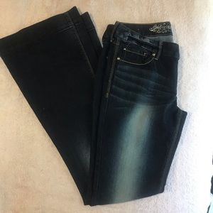 Express Flare Jeans Stella Regular Fit Low Rise 4